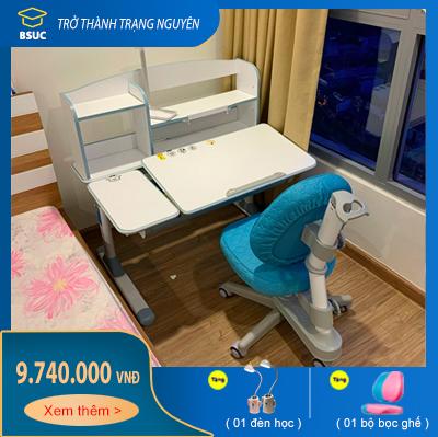 Bộ bàn chống gù dài 100cm mã DRZ-71000 và Ghế DRY-502