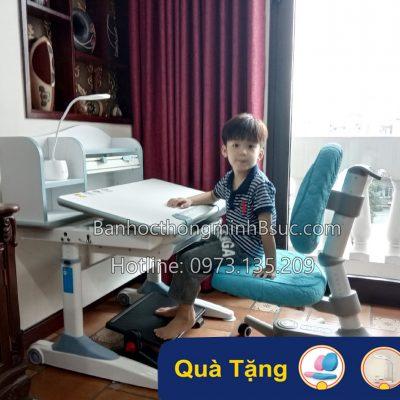 Bàn ghế học chống gù thông minh trẻ em mã DRZ-18003
