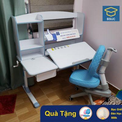 Mẫu bàn ghế học thông minh chống gù chống cận cho bé DRZ-71200L