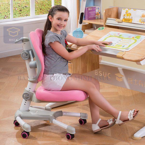 một chiếc ghế học sinh chống gù dành riêng cho việc học của con chúng ta