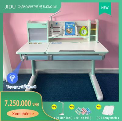 Bàn học chống gù chống cận cho bé dài 1m2 model JD-120G [NEW]