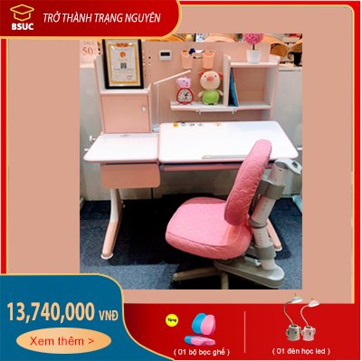 Bộ sản phẩm: Bàn chống gù cao cấp 120cm mã DRZ-91200 và Ghế DRY-502