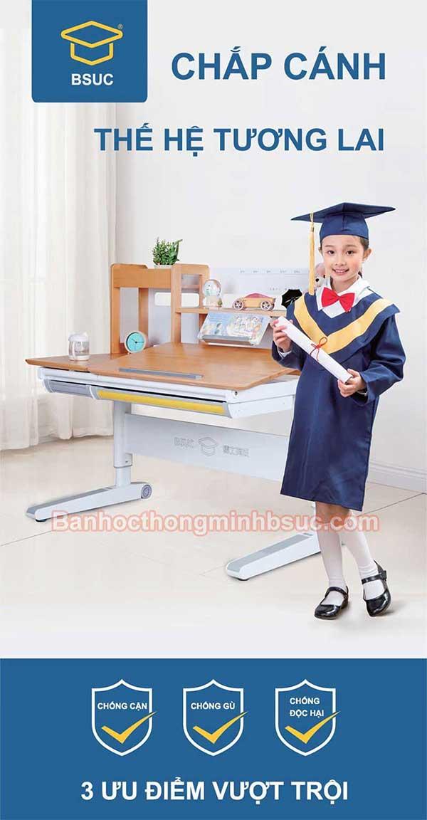 bàn học sinh thông minh chắp cánh cho thế hệ trẻ tương lai
