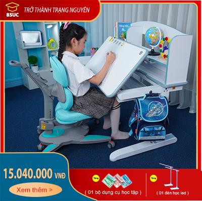 Bộ bàn chống gù chống cận DRZ-12006 và Ghế DRY-810 cho trẻ em