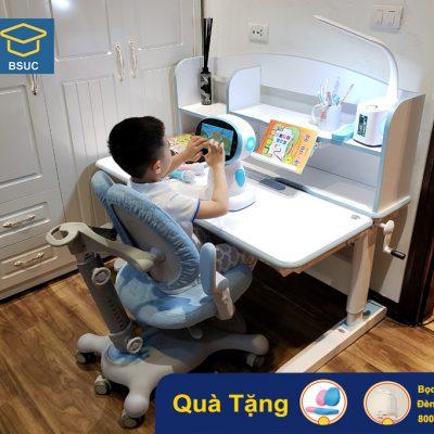 Mẫu bộ bàn ghế chống gù chống cận DRZ-12006 cho trẻ em