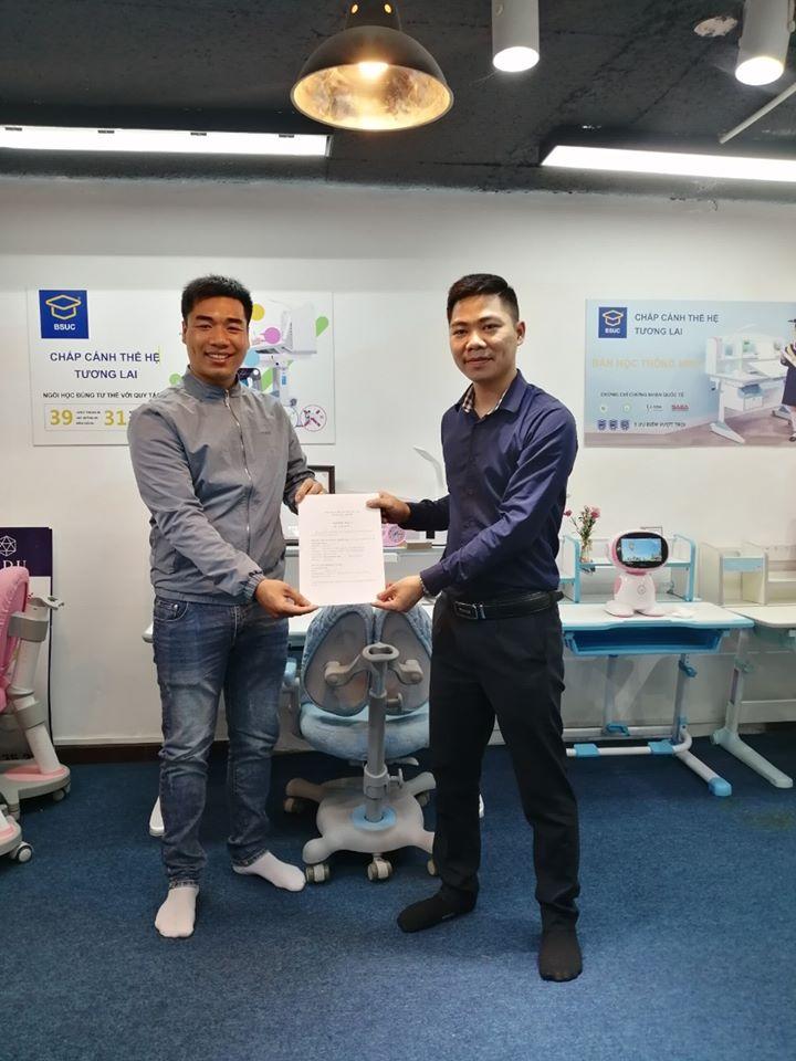 BSUC mở rộng đại lý cung cấp bàn học thông minh tại Long Biên, Hà Nội