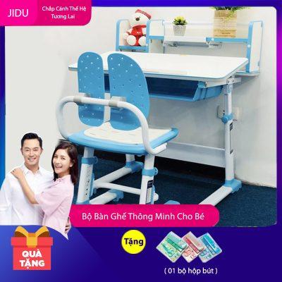 Bộ bàn ghế thông minh mã JD-303L dài 80cm dành cho trẻ em