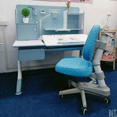 Bộ sản phẩm bàn học 120cm cao cấp DRZ-91200 và ghế DRY-502