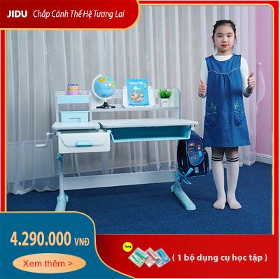 Bàn học chống gù JD-5100 dài 100cm dành cho bé