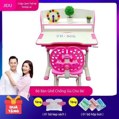 Bộ bàn ghế chống gù mã JD-305 dành cho bé