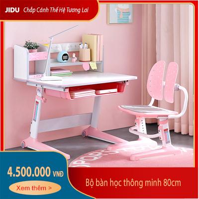 Bộ bàn học thông minh dài 80cm mã JD-5080 và ghế chống gù mã JD-506