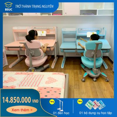 Bộ bàn học thông minh Bsuc cao cấp cho trẻ em DRZ-12001 và DRY-810